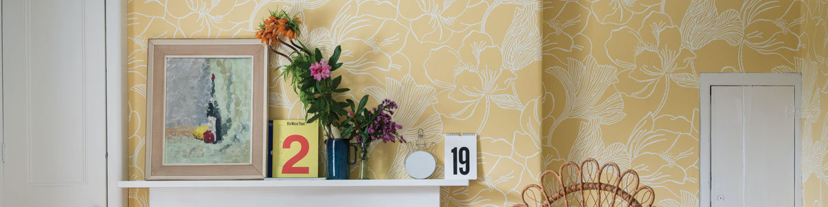 New floral designs from Farrow & Ball