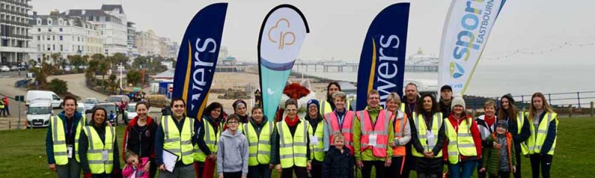 Supporting junior parkrun in Eastbourne