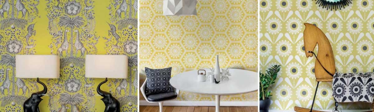 New season trends from wallpaper direct