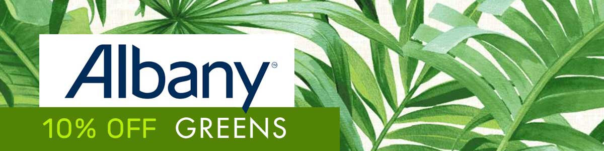 Jungle Fever! 10% off 9 glorious Albany greens