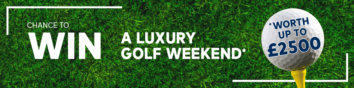 Luxury Golf Weekend Up For Grabs!