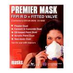 Theard Moulded Disposable Mask FFP1 Valved