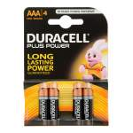 Plus Power Batteries AAA Pack of 4