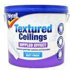 Textured Ceilings Matt Rippled White