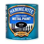 Direct to Rust Metal Paint Satin Black (Ready Mixed)