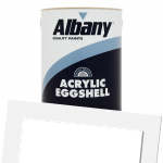 Acrylic Eggshell Colour