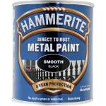 Direct to Rust Metal Paint Smooth Black