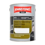 Steel & Cladding Semi Gloss Topcoat Black (Ready Mixed)