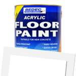 Acrylic Floor Paint White