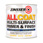 Allcoat Multi-Surface Primer & Finish (Solvent-based) White