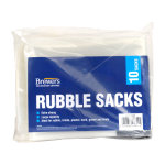 Rubble Sacks Clear (Pack of 10)