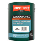 Quick Dry Polyurethane Floor Varnish Satin Clear