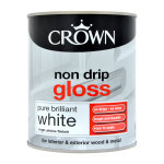 Non-Drip Gloss Brilliant White