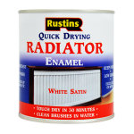 Radiator Enamel Quick Dry Satin White