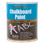 Chalkboard Paint Black Matt