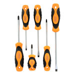 Soft Grip Screwdriver Set (6 piece)