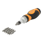 6 Piece Double Ended Ratchet Screwdriver