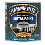 Direct to Rust Metal Paint Hammered Silver