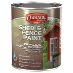 Shed & Fence Paint White