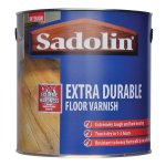 Extra Durable Floor Varnish Satin Clear