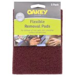 Flexible Removal Pads Pack of 5