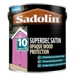 Superdec Opaque Wood Protection Satin Walnut