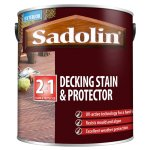 Decking Stain and Protector Satin Golden Brown (Ready Mixed)