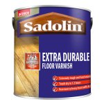 Extra Durable Floor Varnish Satin Walnut