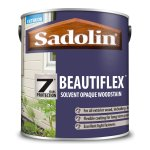 Beautiflex Opaque Woodstain Black