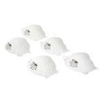 FFP1 Moulded Non-Valved Respirator Pack of 5