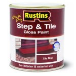 Quick Dry Step & Tile Paint Red