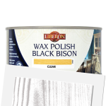 Black Bison Wax Paste Satin Dark Oak