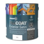 AllCoat Exterior Satin Solvent-Based White