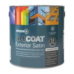 AllCoat Exterior Satin Solvent-Based Black