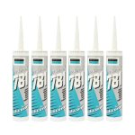 6 X 781 Acetoxy Sealant Clear