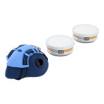 Twin Filter Re-Usable Respirator Class A1 P2