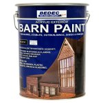 Barn Paint Semi Gloss Black
