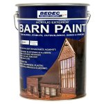 Barn Paint Semi Gloss White