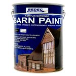Barn Paint Satin Black