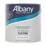 Oil Based Satin Brilliant White