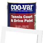 Tennis Court & Drive Paint
