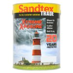 X-treme X-posure Smooth Masonry Paint Black (Ready Mixed)