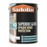 Superdec Opaque Wood Protection Gloss Super White