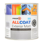 Allcoat Exterior Matt Black (Ready Mixed)