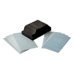 Expert Velcro Backed Sanding Kit