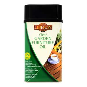 Garden Furniture Oil Clear