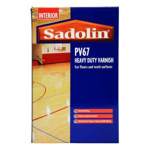 PV67 Heavy Duty Varnish Satin Clear