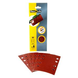 Hook and Loop Orbital Sanding Sheet (Pack of 6)