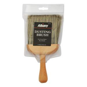 Dusting Brush Grey Bristle