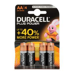 Plus Power Batteries AA Pack of 4